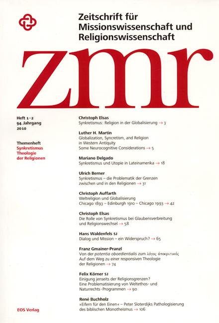 Zeitschrift für Missionswissenschaft und Religionswissenschaft 94 (2010/1-2)
