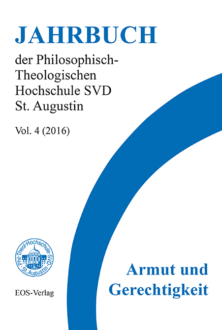 Jahrbuch der Philosophisch-Theologischen Hochschule SVD St. Augustin, vol. 4 (2016)