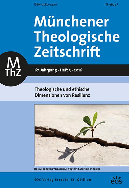 Münchener Theologische Zeitschrift 67 (2016/3)