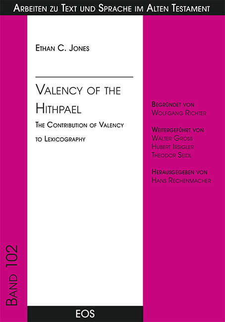 Valency of the Hithpael