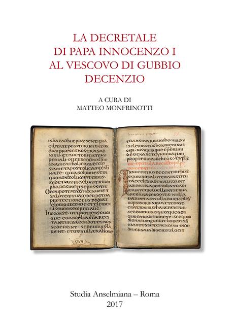 La decretale di Papa Innocenzo I al vescovo di Gubbio Decennio