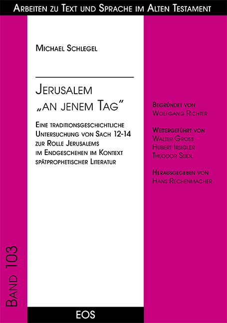 "Jerusalem ""an jenem Tag"""