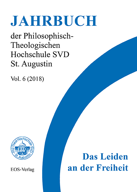 Jahrbuch der Philosophisch-Theologischen Hochschule SVD St. Augustin, vol. 6 (2018)
