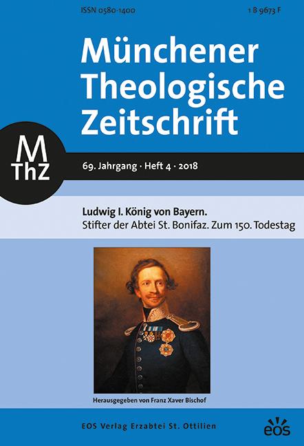 Münchener Theologische Zeitschrift 69 (2018/4)