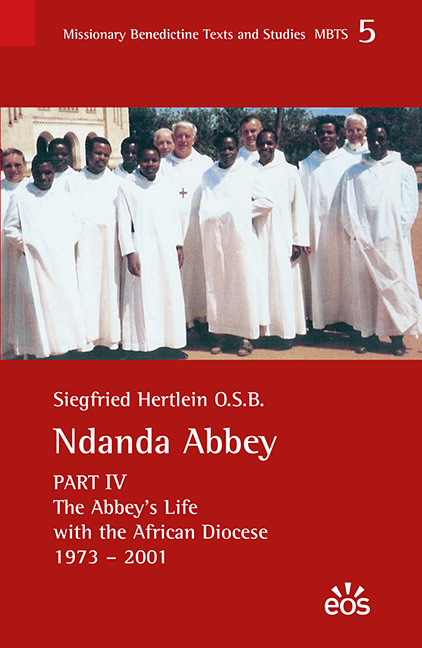 Ndanda Abbey, Part IV