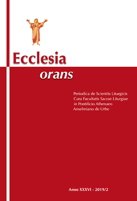 Ecclesia Orans 36 (2019/2)