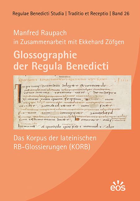 Glossographie der Regula Benedicti (ebook)