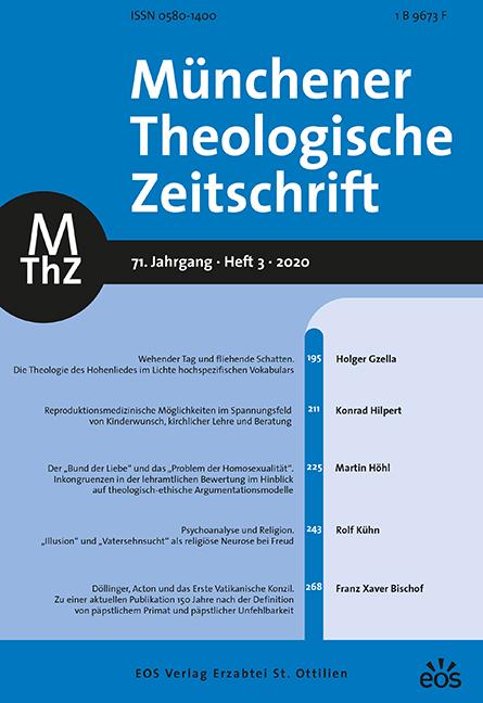 Münchener Theologische Zeitschrift 71 (2020/3)