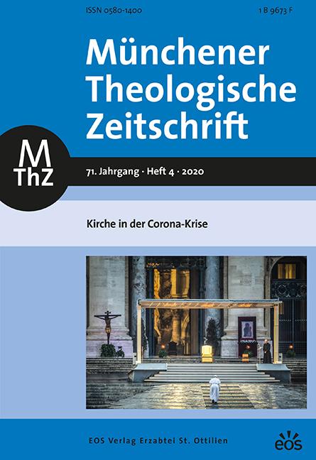 Münchener Theologische Zeitschrift 71 (2020/4)