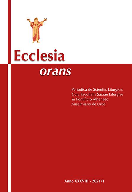 Ecclesia Orans 38 (2021/1)