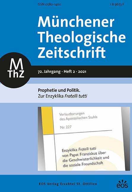 Münchener Theologische Zeitschrift 72 (2021/2)
